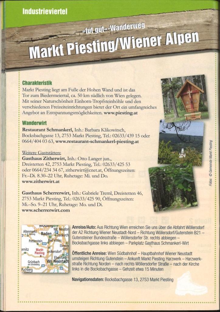 Beschreibung Markt Piesting