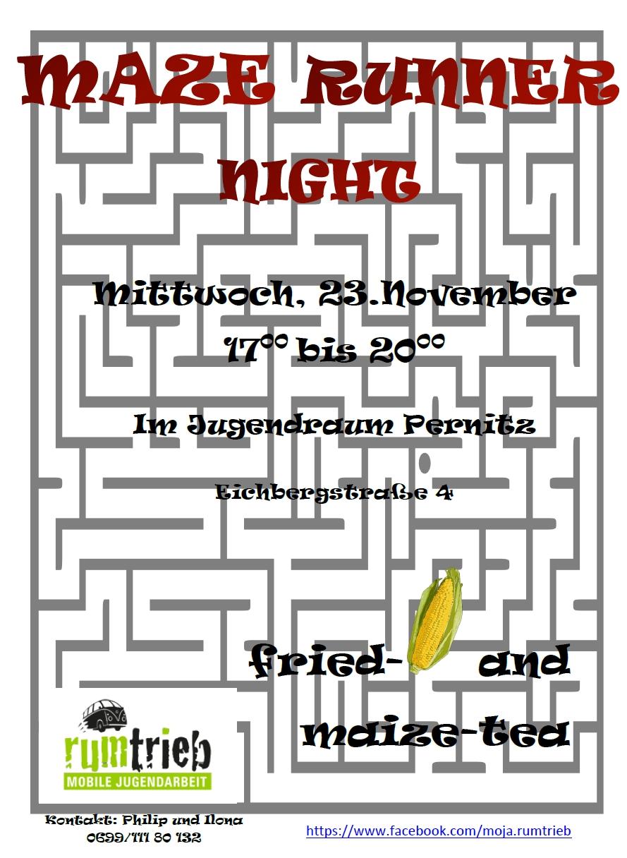 Maze Runner Night Markt Piesting Dreistetten