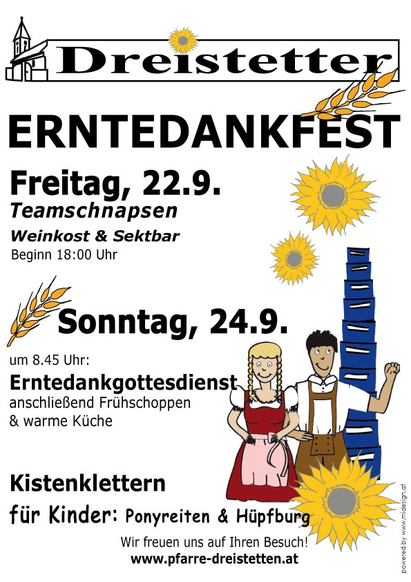 Datum Erntedankfest