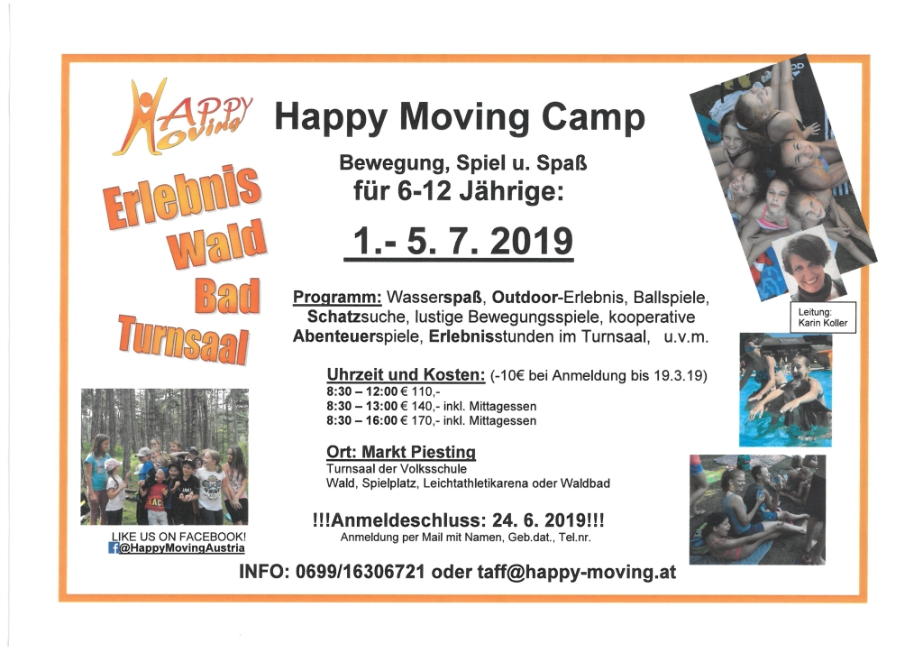 Happy Moving Camp