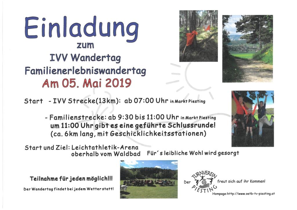 Ivv Wandertag Markt Piesting Dreistetten