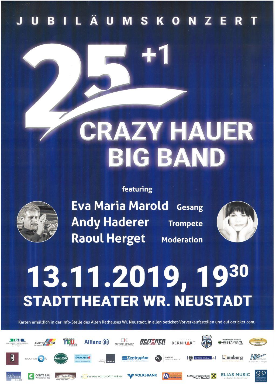 Crazy Hauer Big Band – Jubiläumskonzert
