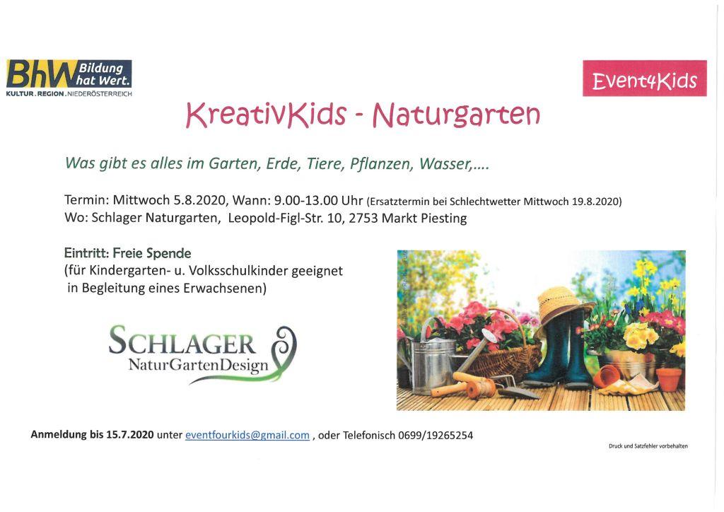 KreativKids – Naturgarten