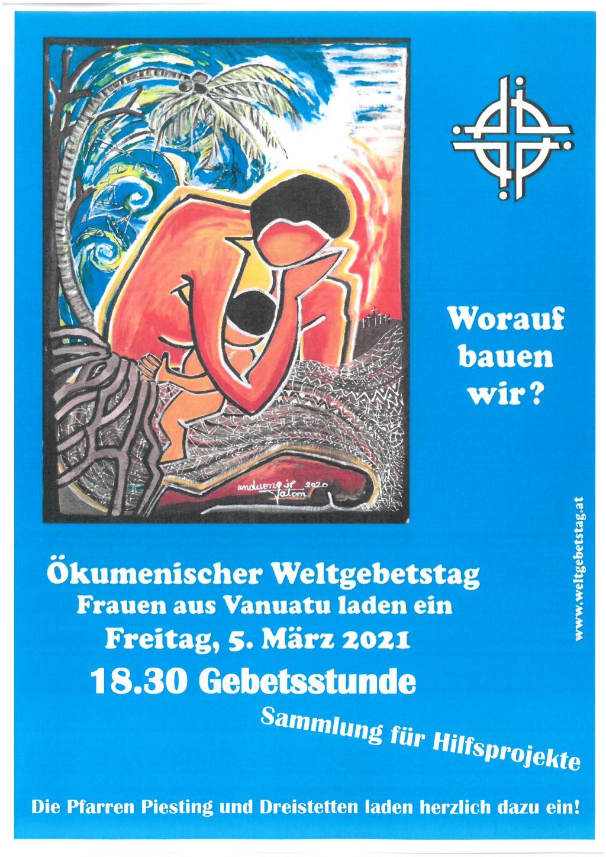 Ökumenischer Weltgebetstag