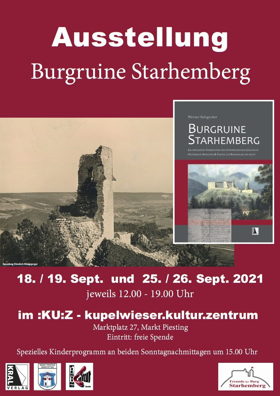 Ausstellung Burgruine Starhemberg